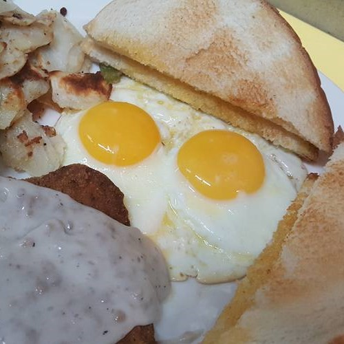 breakfast egg and bread