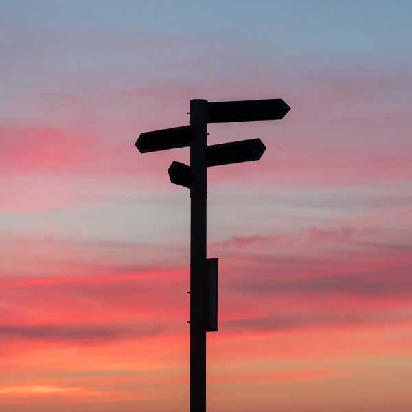 A signpost to help navigate your brand