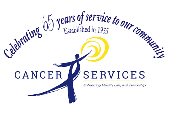 Cancer Services 65th Anniversary Logo Image