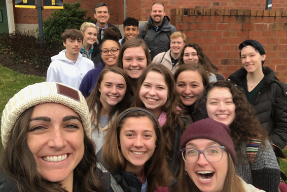 2019-20 Shore Scholars at App State University, Boone NC, Fall 2019
