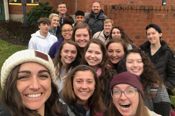 2019-20 Shore Scholars at App State University, Boone NC, Fall 2019