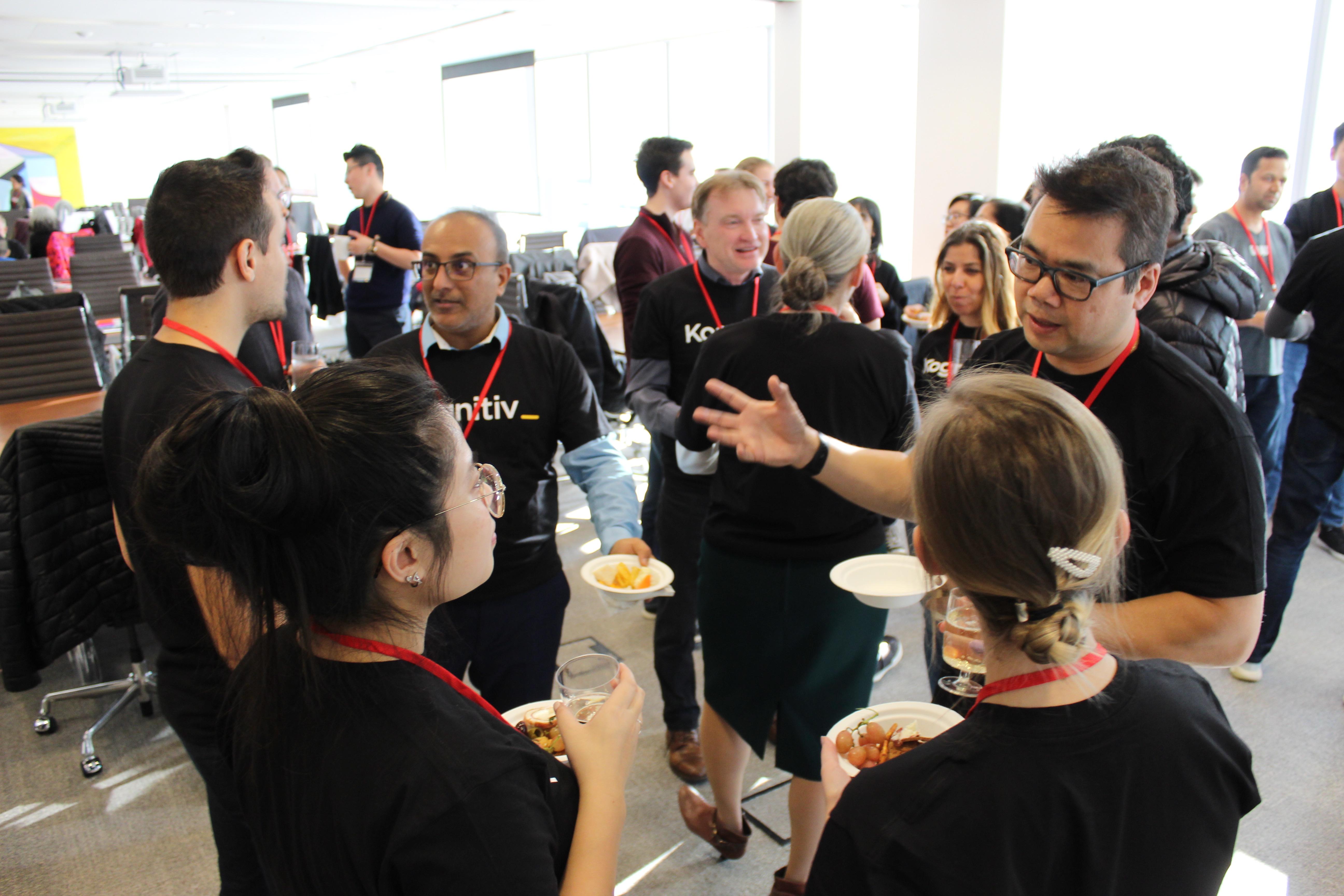 Kogitiv team at Upside's Employee Volunteering Social