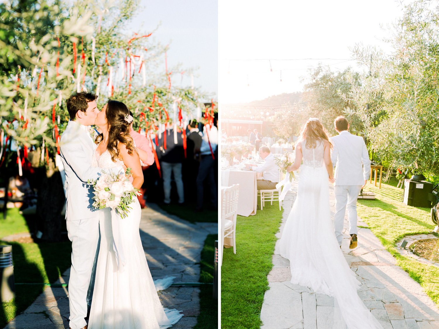 Mediterranean Seaside Wedding in Assos