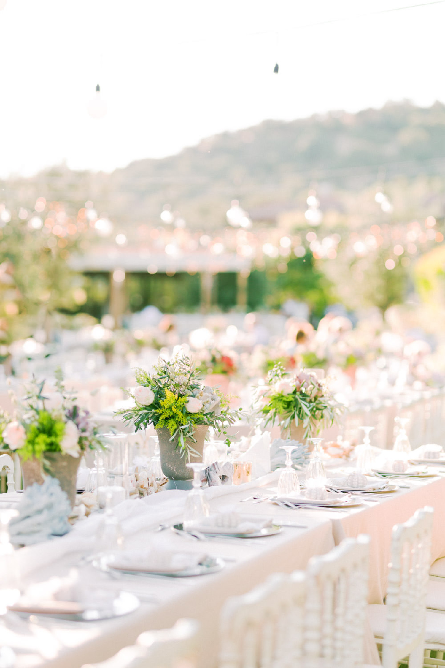 Mediterranean Seaside Wedding Design
