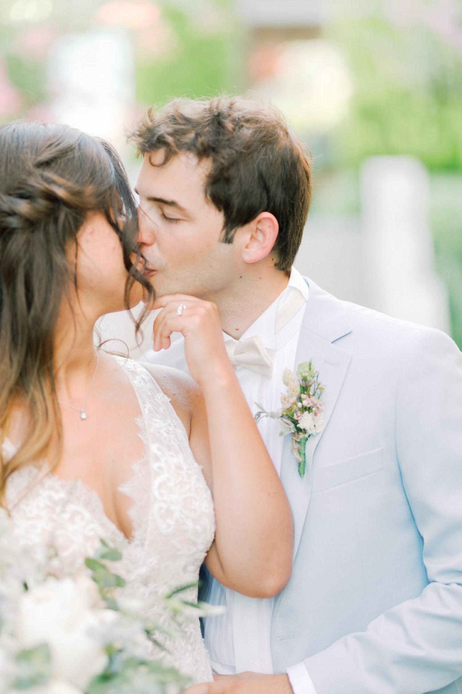Mediterranean Seaside Wedding in Assos