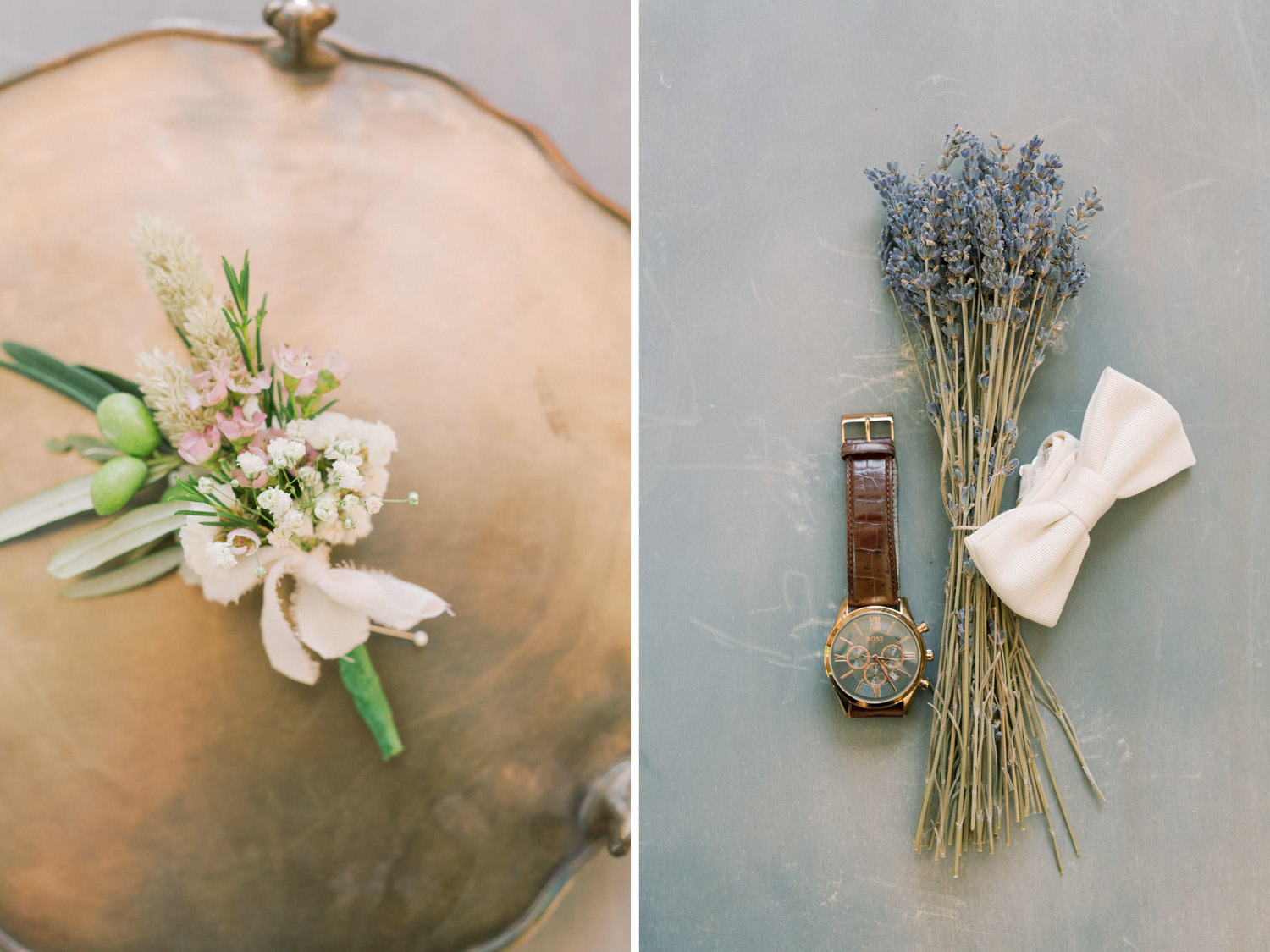 Mediterranean Wedding Details