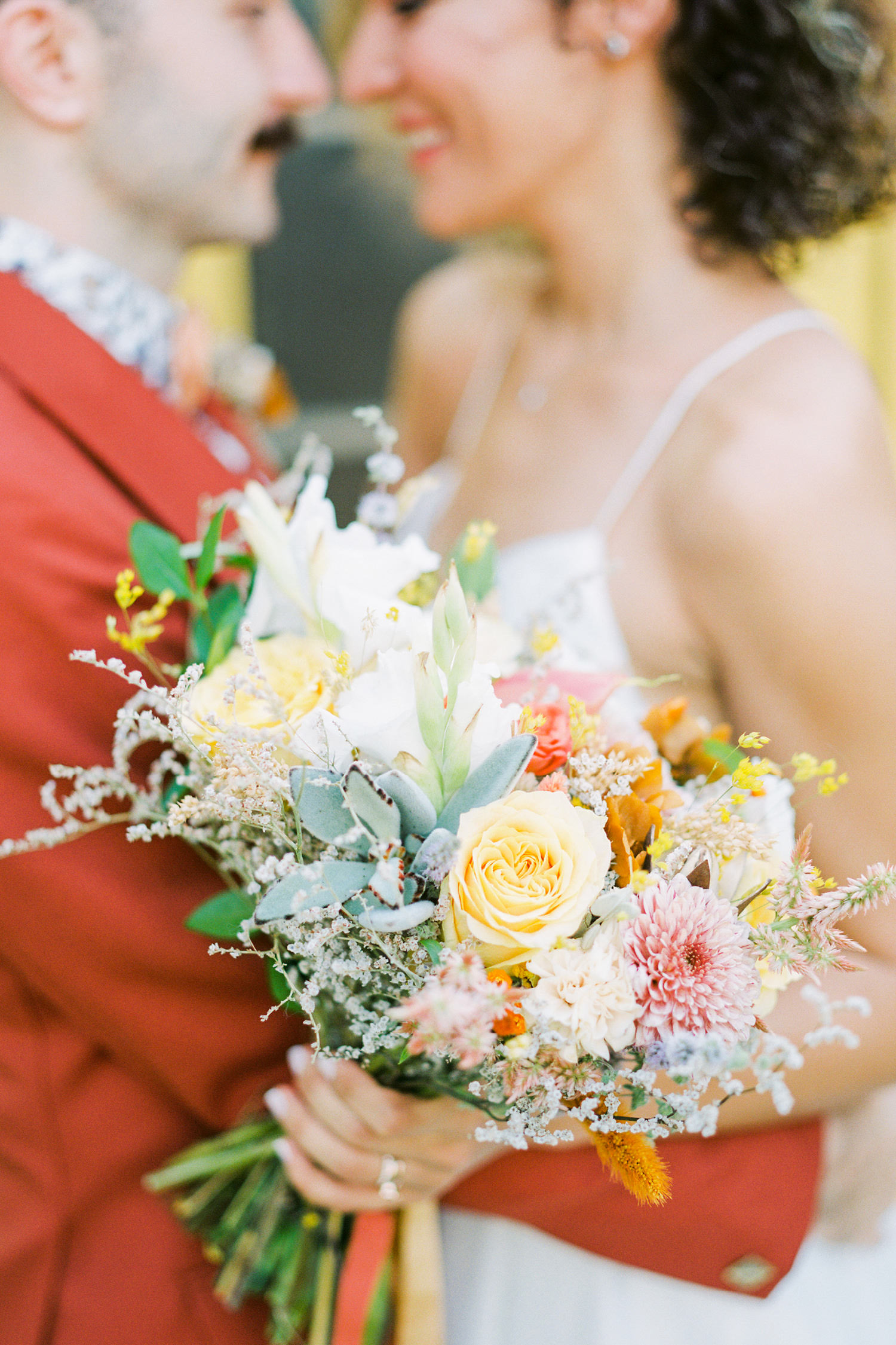 Colorful Countryside Wedding