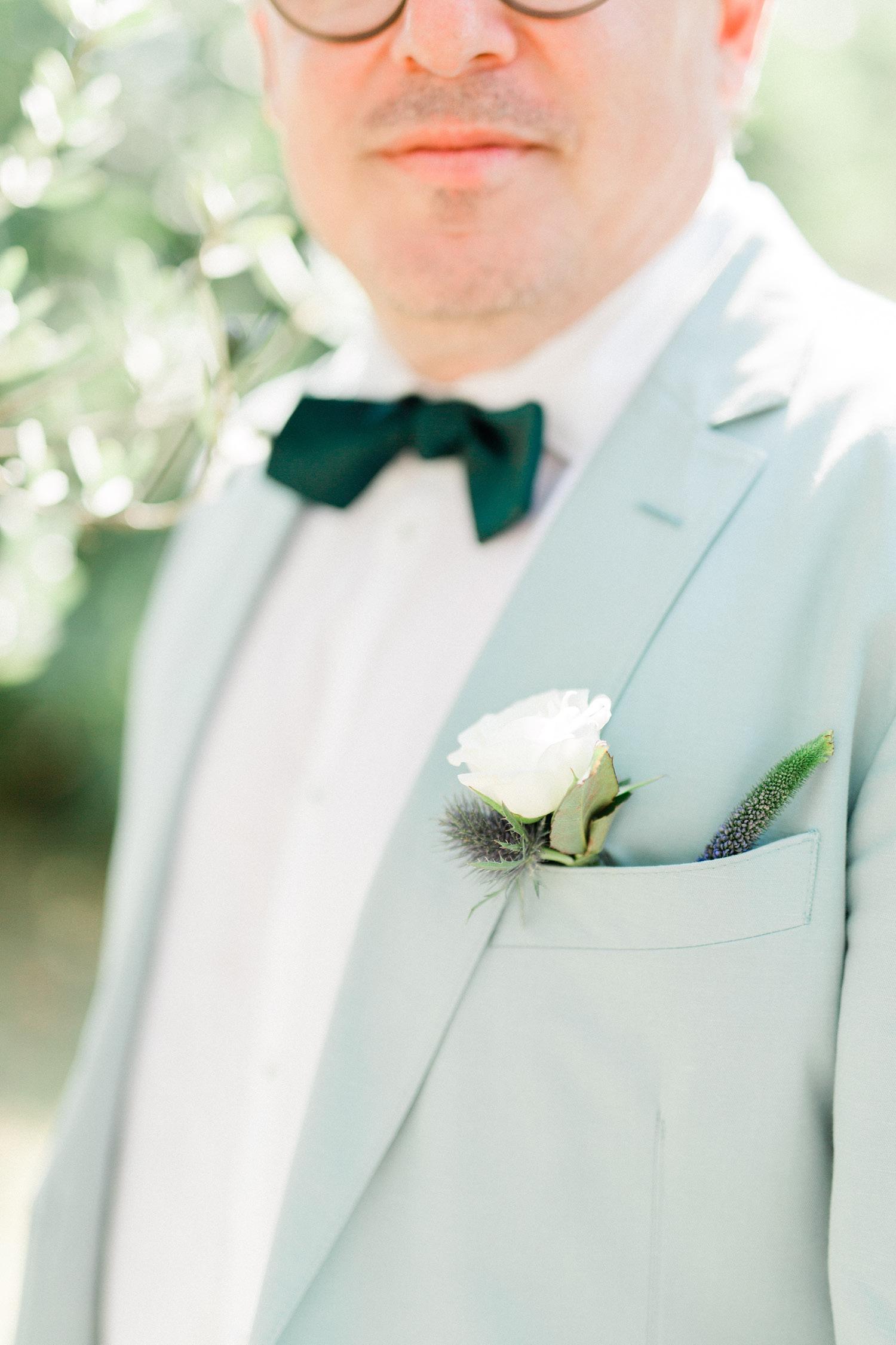 Mediterranean Vineyard Wedding Groom
