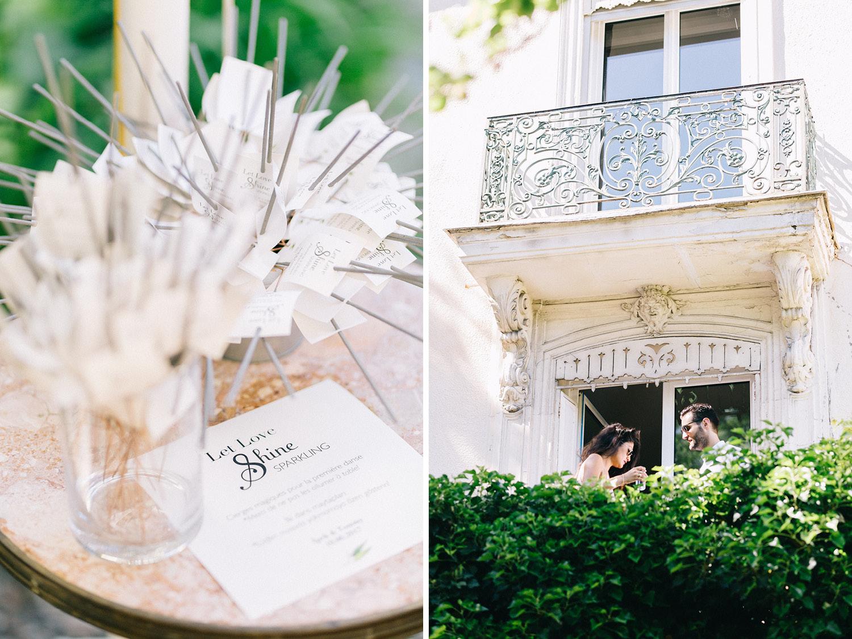 Paris Wedding Details