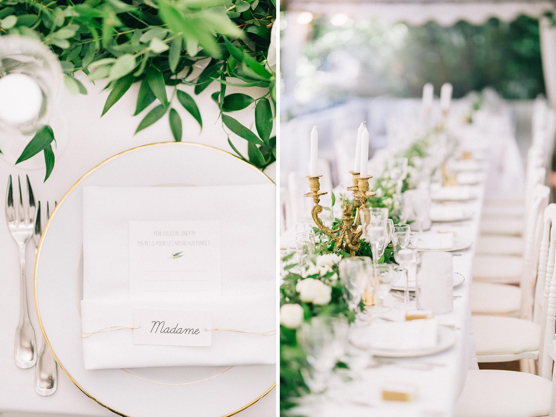 Paris Wedding Table Design