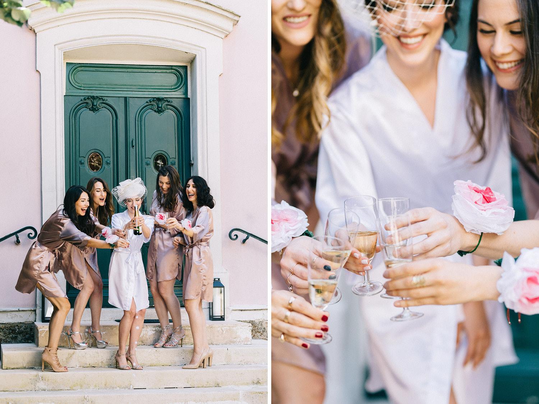 Paris Wedding Photographer Bridesmaids