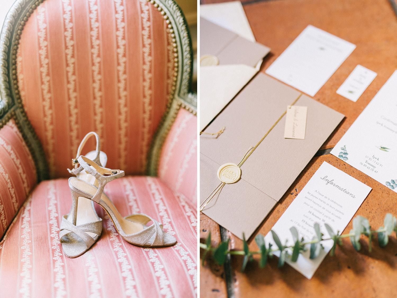 Paris Wedding Flat Lay