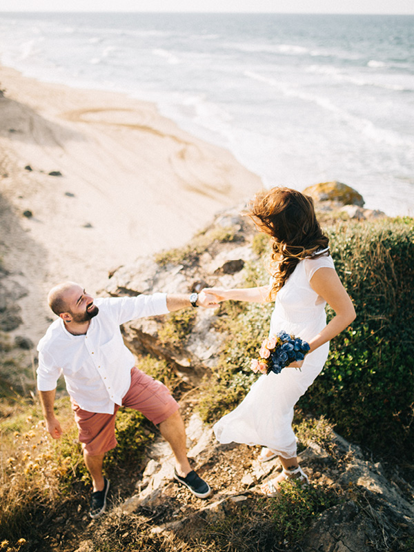 Engagement Session By Black Sea