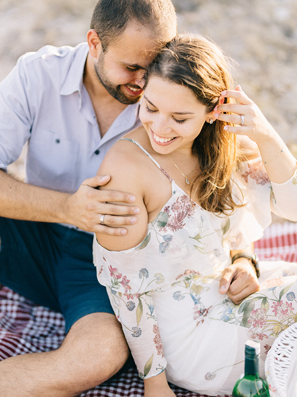 An Intimate Engagement Session By Aegean Sea