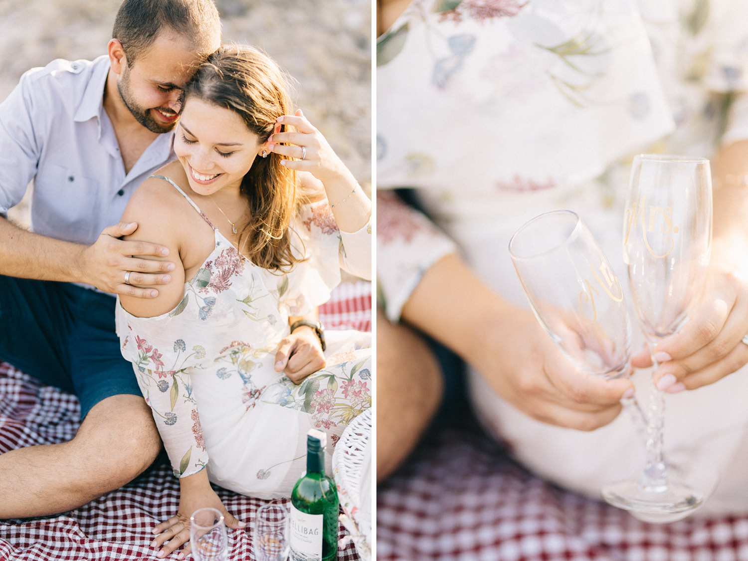 Engagement Session by Aegean Sea