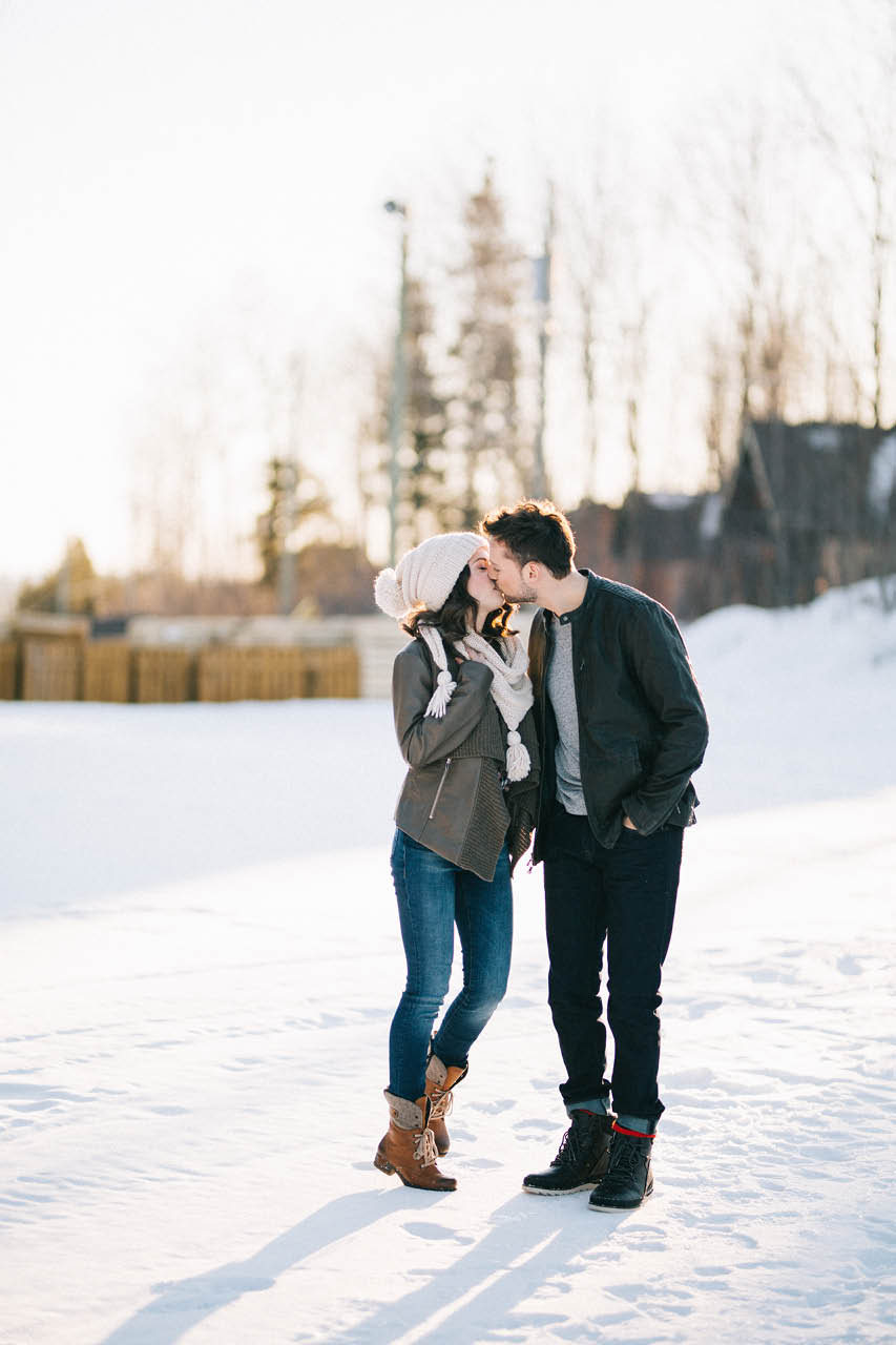 Quebec Engagement Photographer