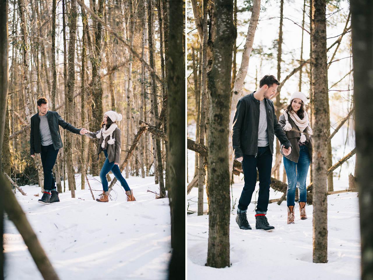Quebec Engagement Photographer