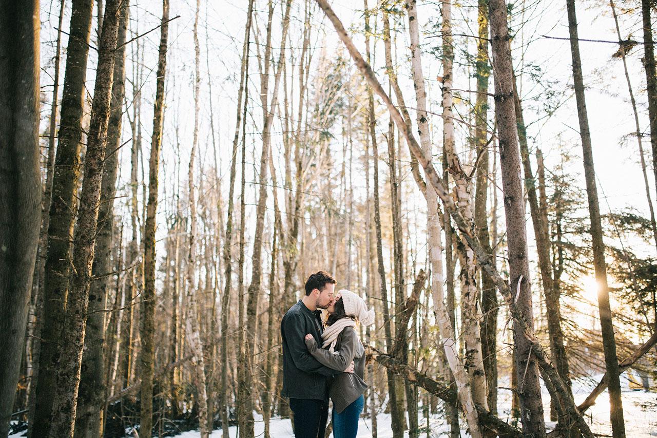 Quebec Engagement Photos