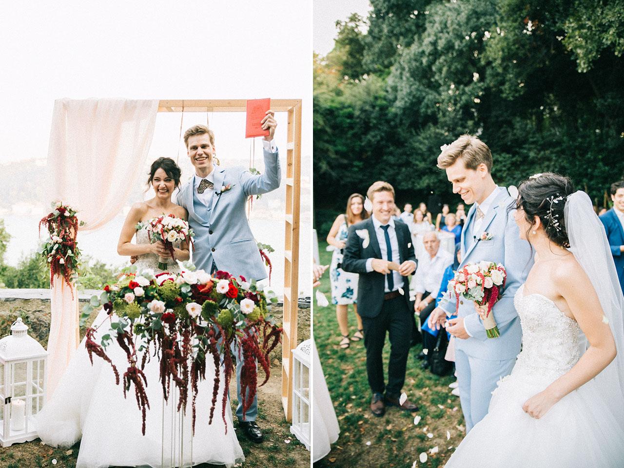 Kennedy Lodge Wedding Ceremony