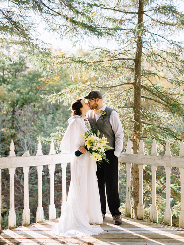 Vintage Countryside Wedding In Quebec