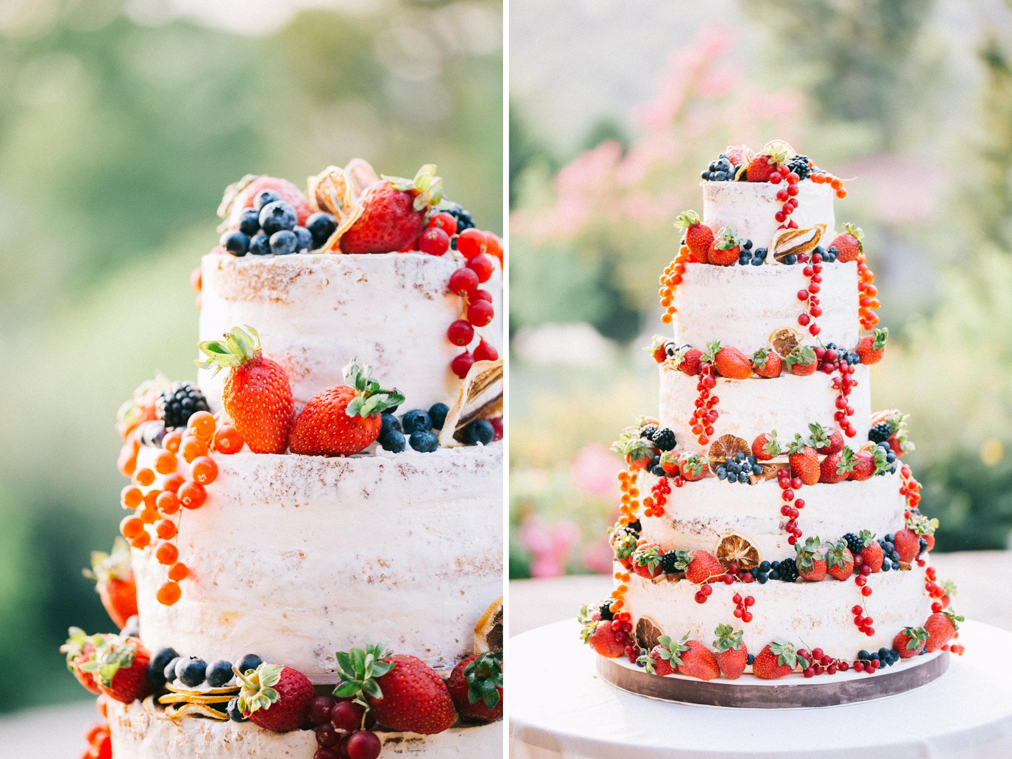 Casa Lavanda Wedding Cake
