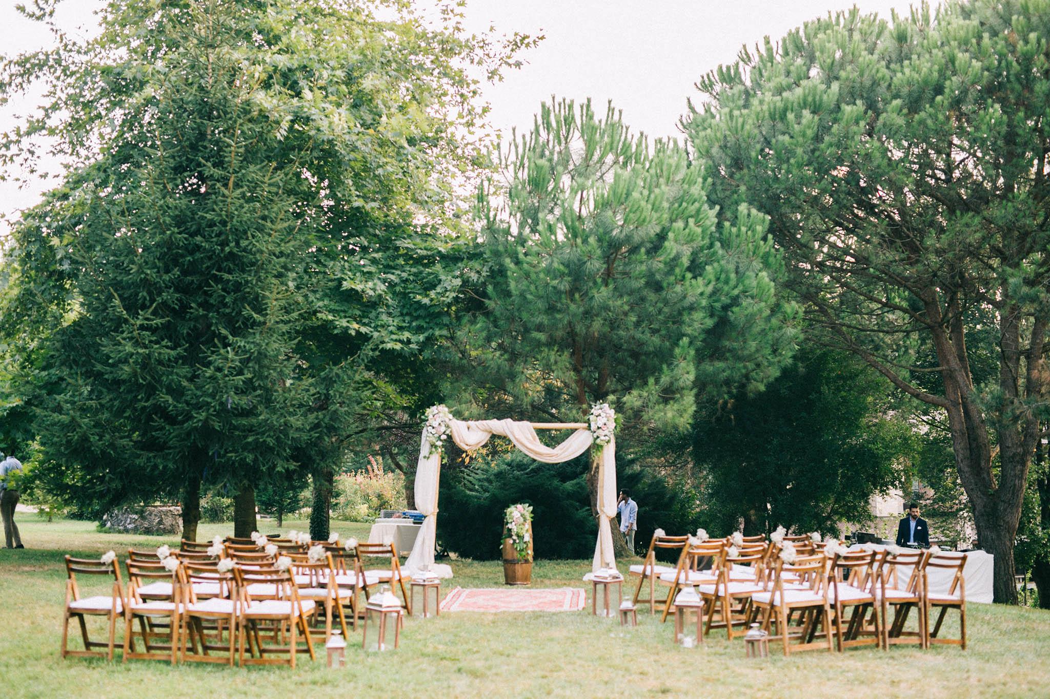 Casa Lavanda Wedding Ceremony