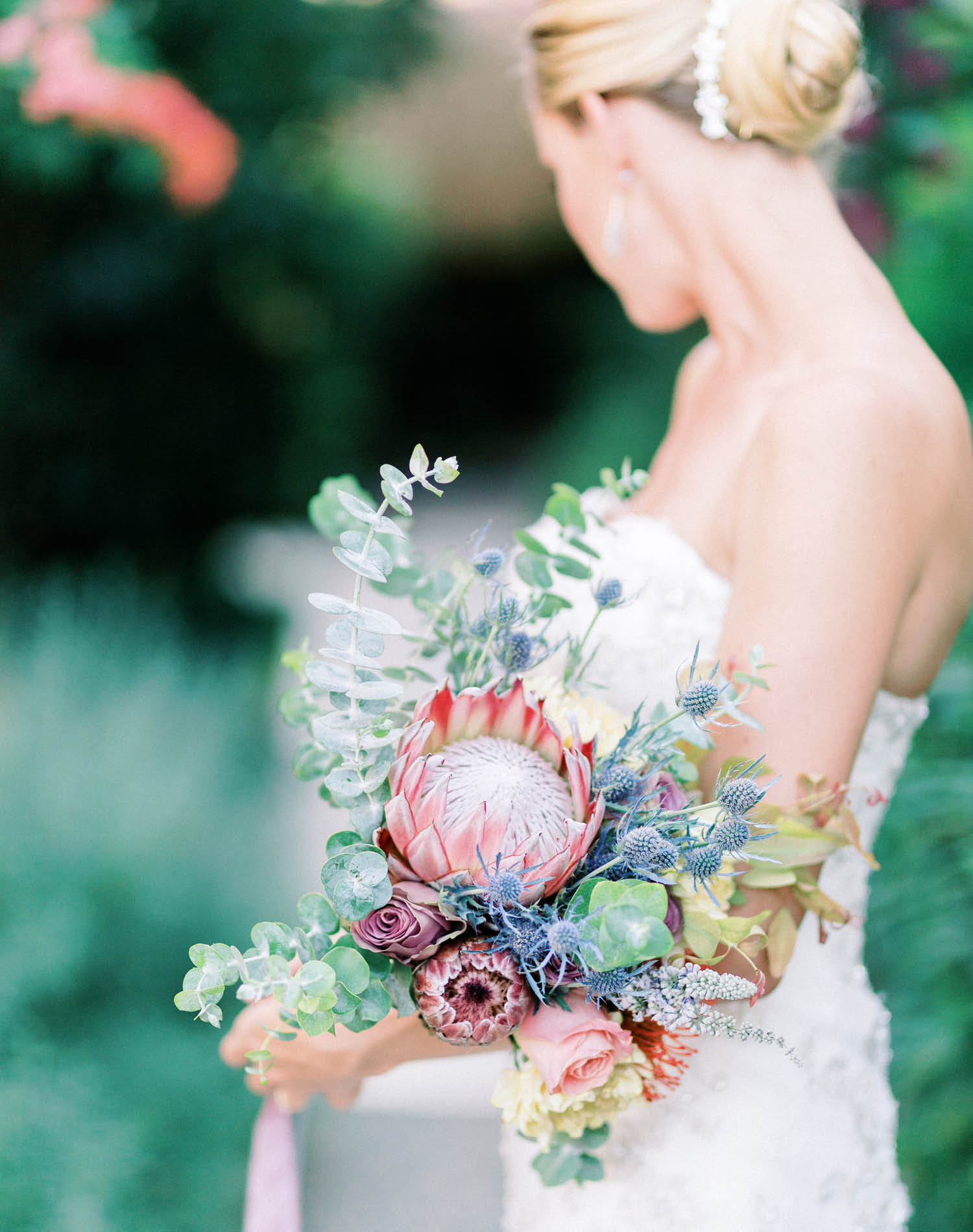 Elopement Wedding Photograher - Flamm Bodrum Wedding Bouquet
