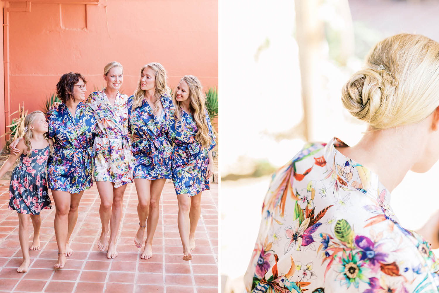 Elopement Wedding Photograher - Flamm Bodrum Wedding Bridesmaids