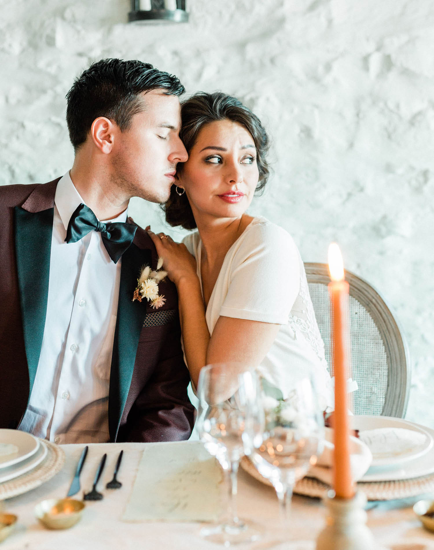 French Farm House Inspired Wedding in Quebec Auberge Saint-Antoine - Montreal Wedding Photographer