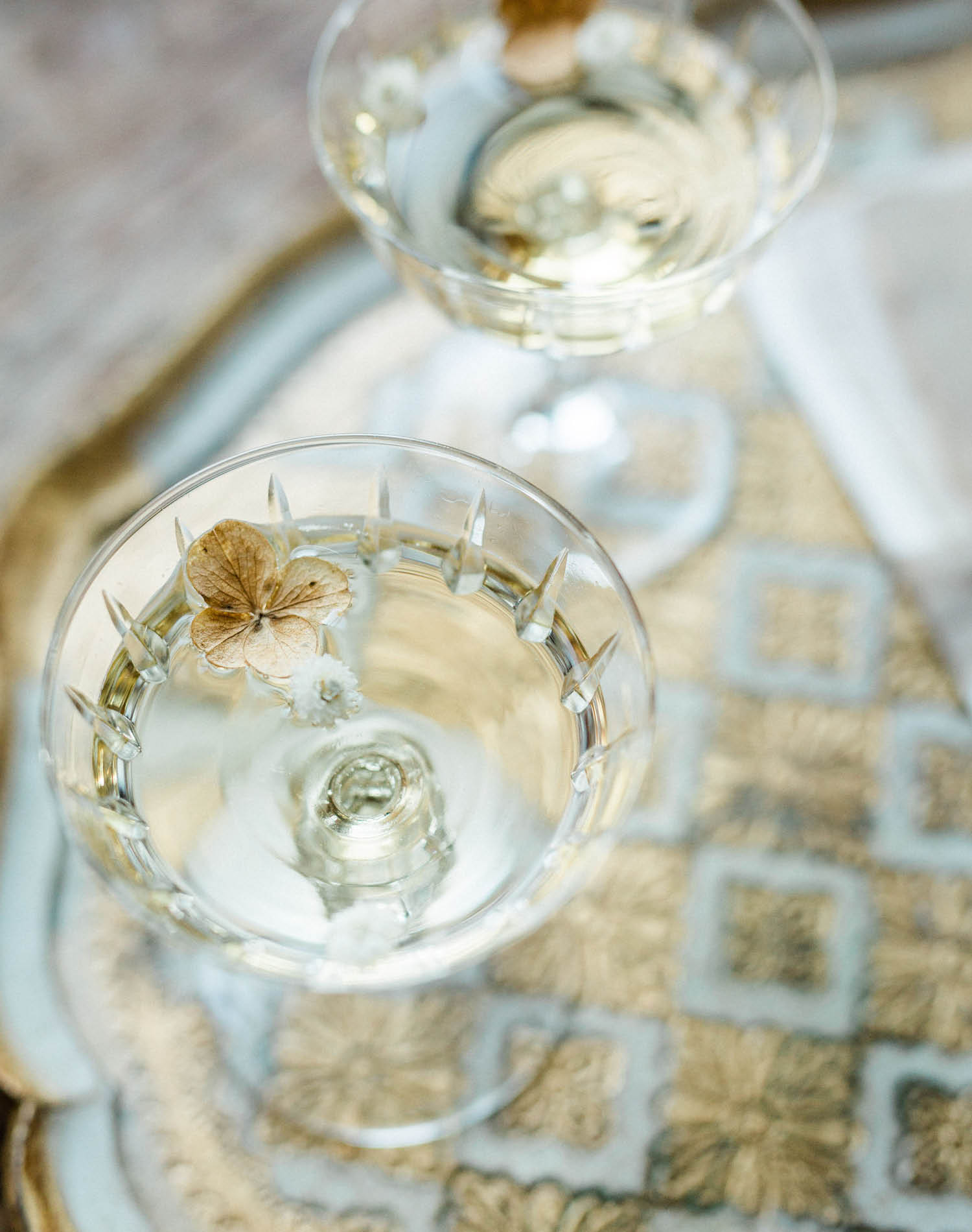 French Farm House Inspired Wedding in Quebec Auberge Saint-Antoine - Champagne