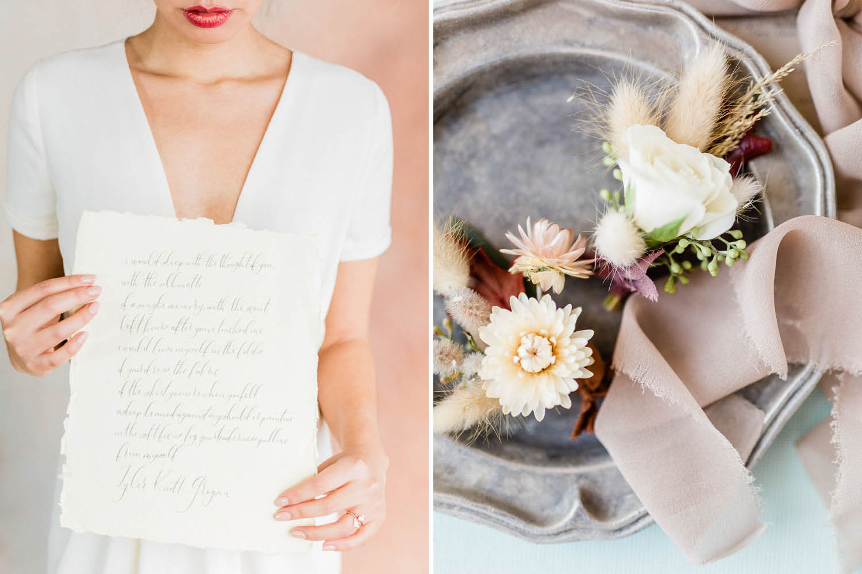 French Farm House Inspired Wedding in Quebec Auberge Saint-Antoine - Wedding Details