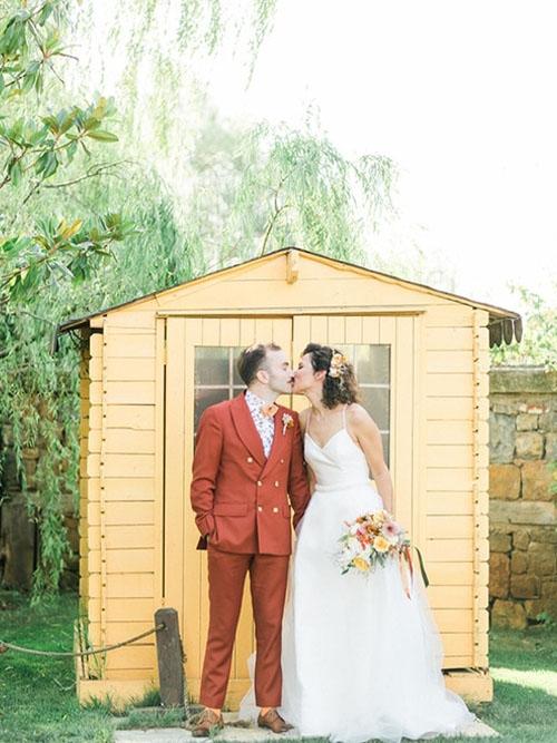 Colorful Countryside Wedding