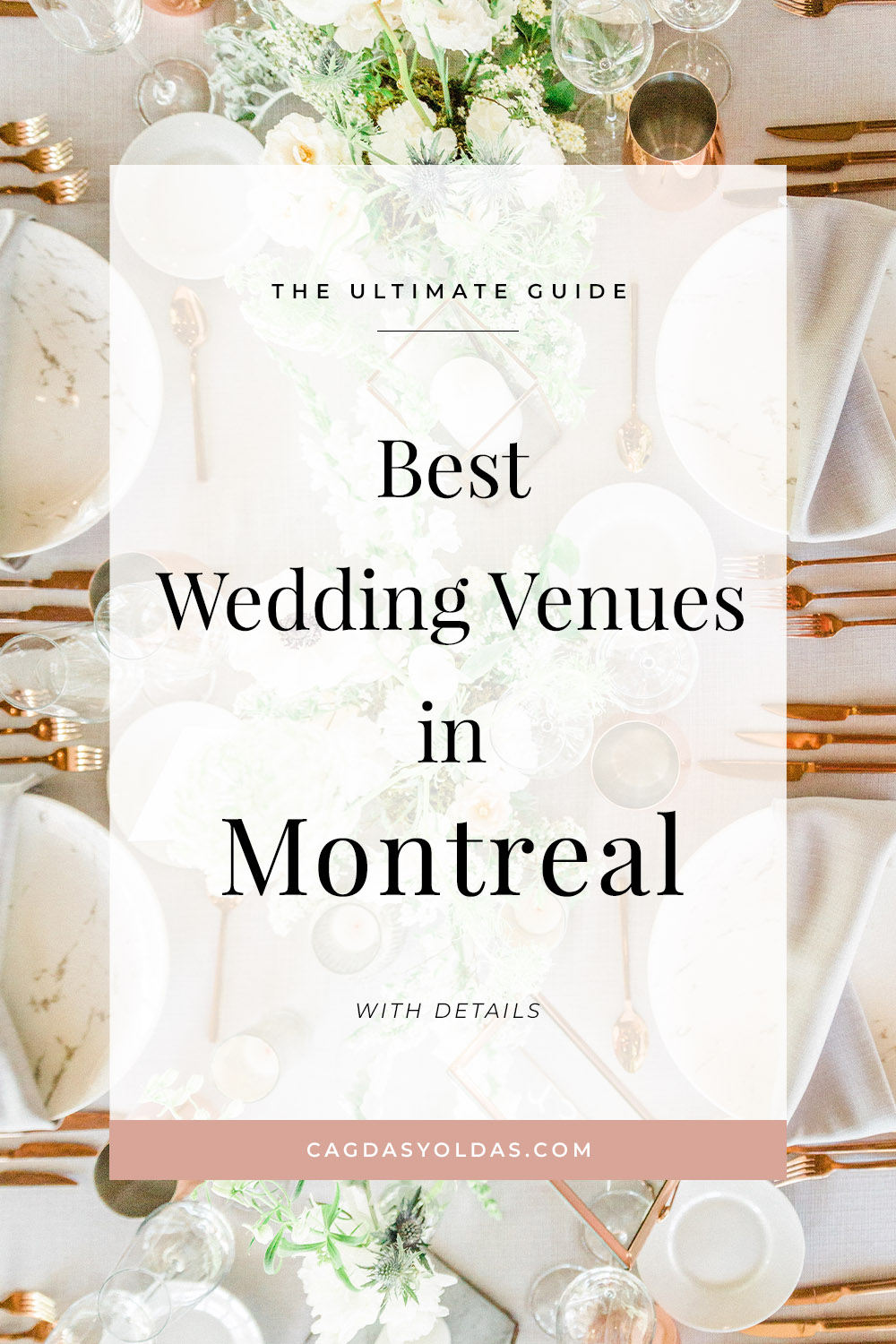 A list of the best wedding venues in Motreal, Quebec and the surrounding areas. Check out this post for inspirational photos, information, and venue contact info!