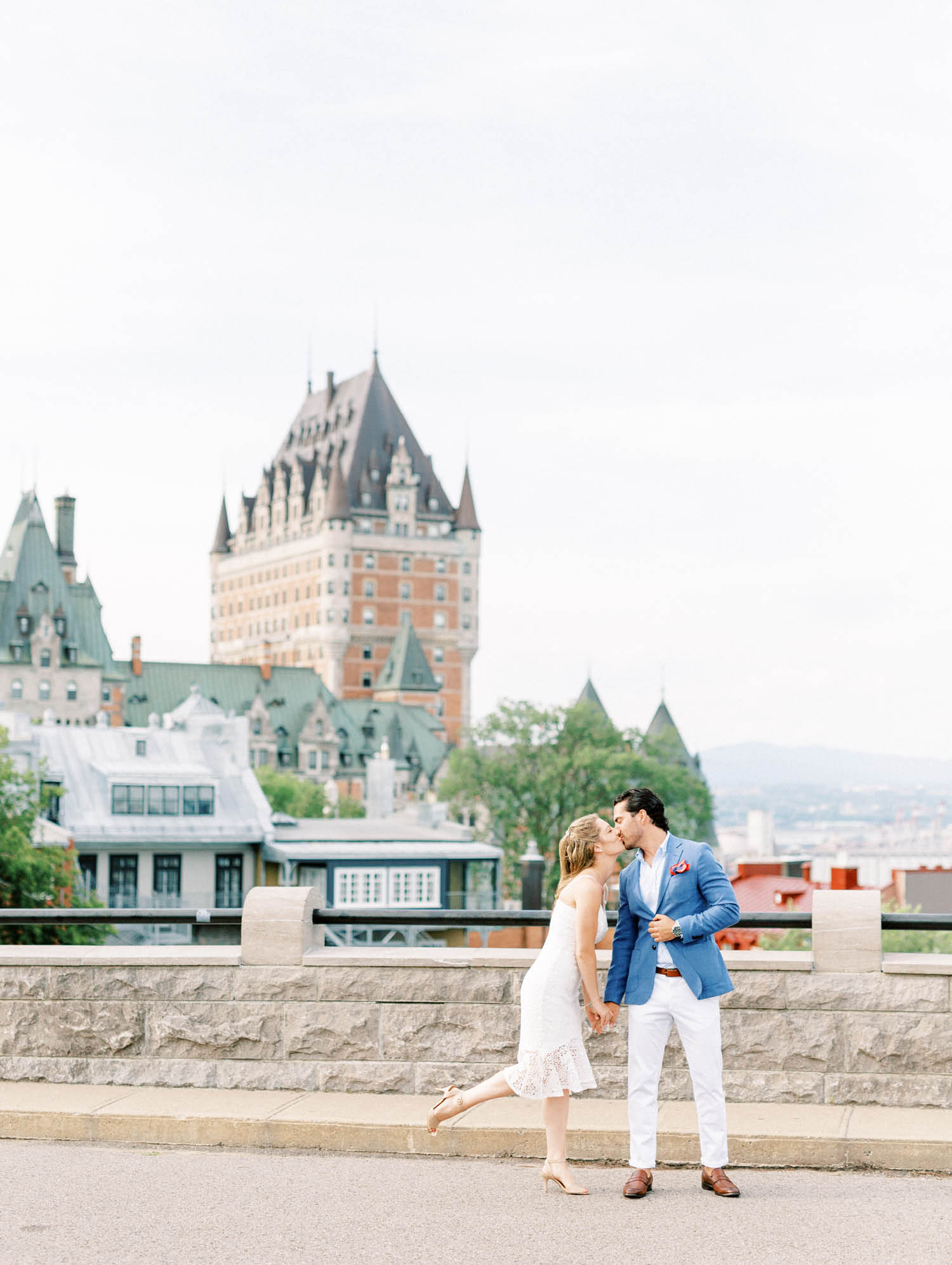 Quebec City Engagement Session