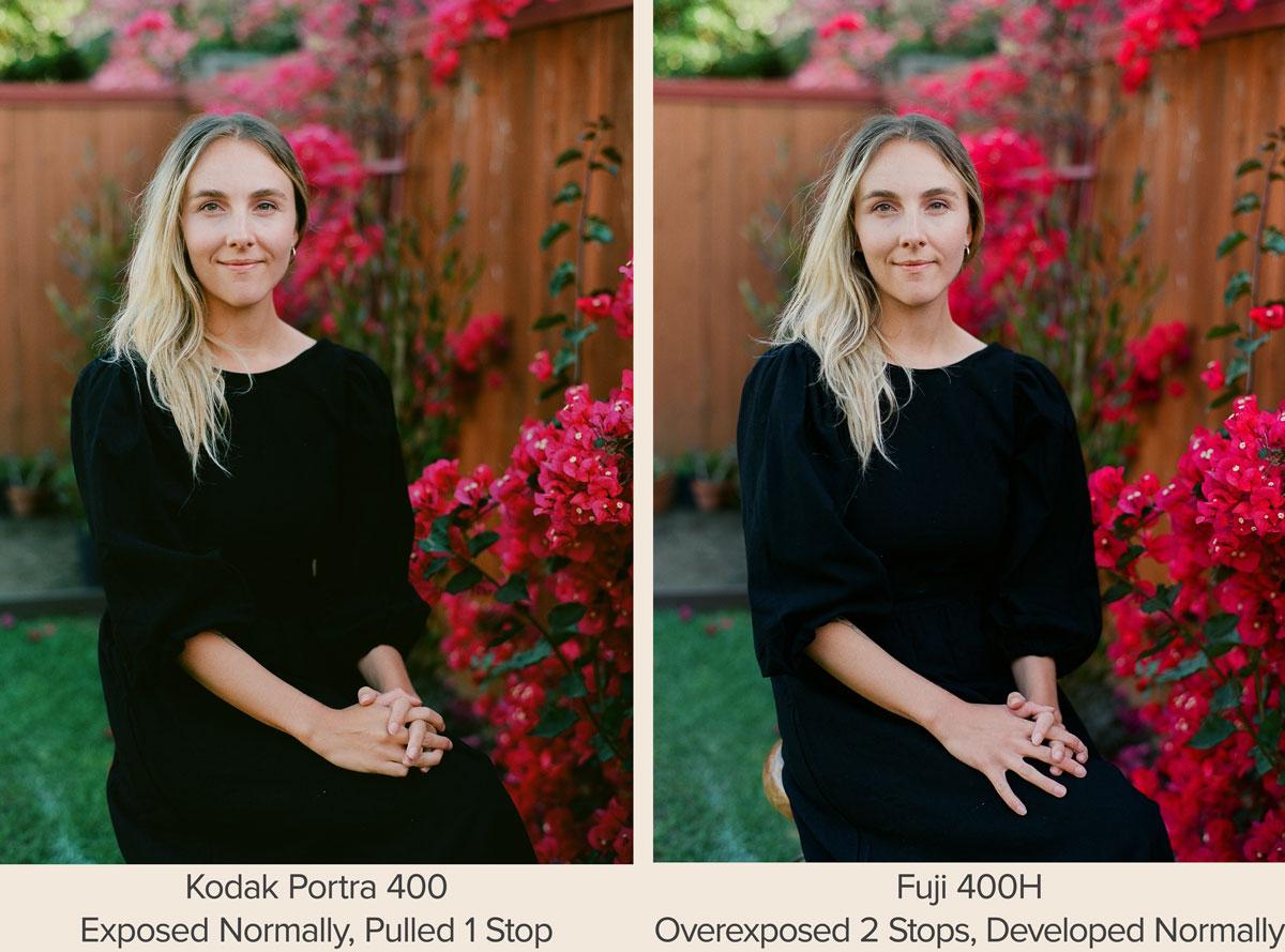 Fujifilm PRO 400H vs Kodak Portra 400