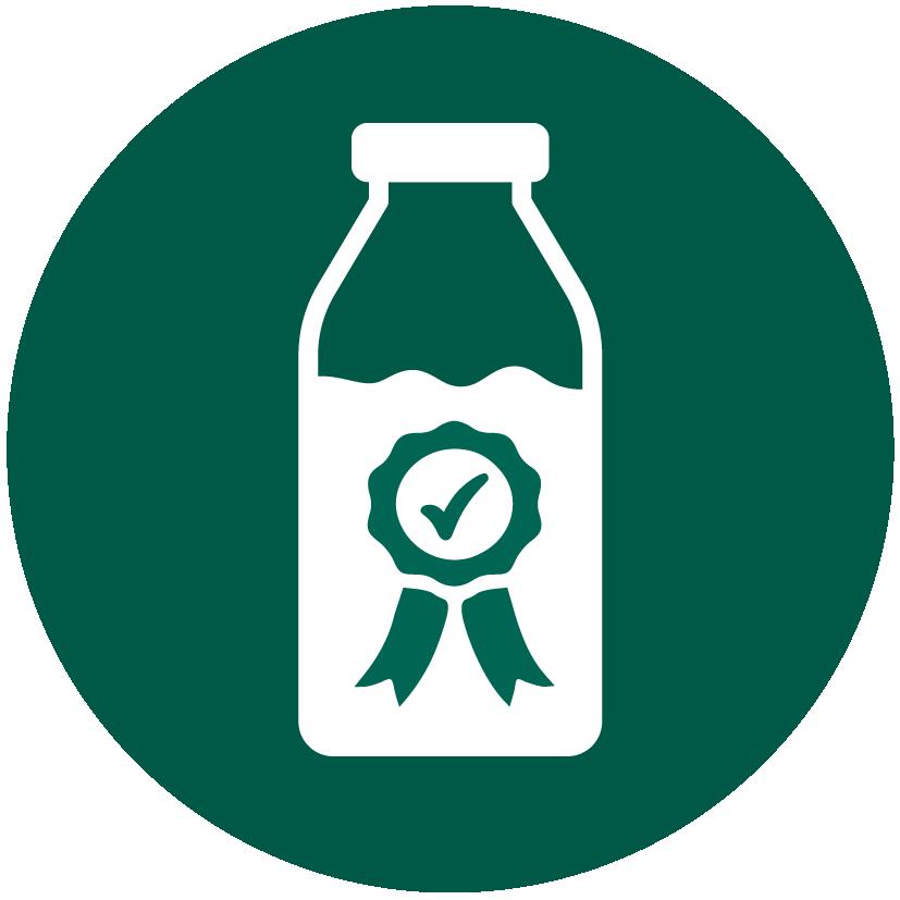 Icono con tarro de leche