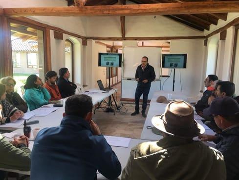 capacitacion de ganaderos ecuatorianos en machachi ecuador