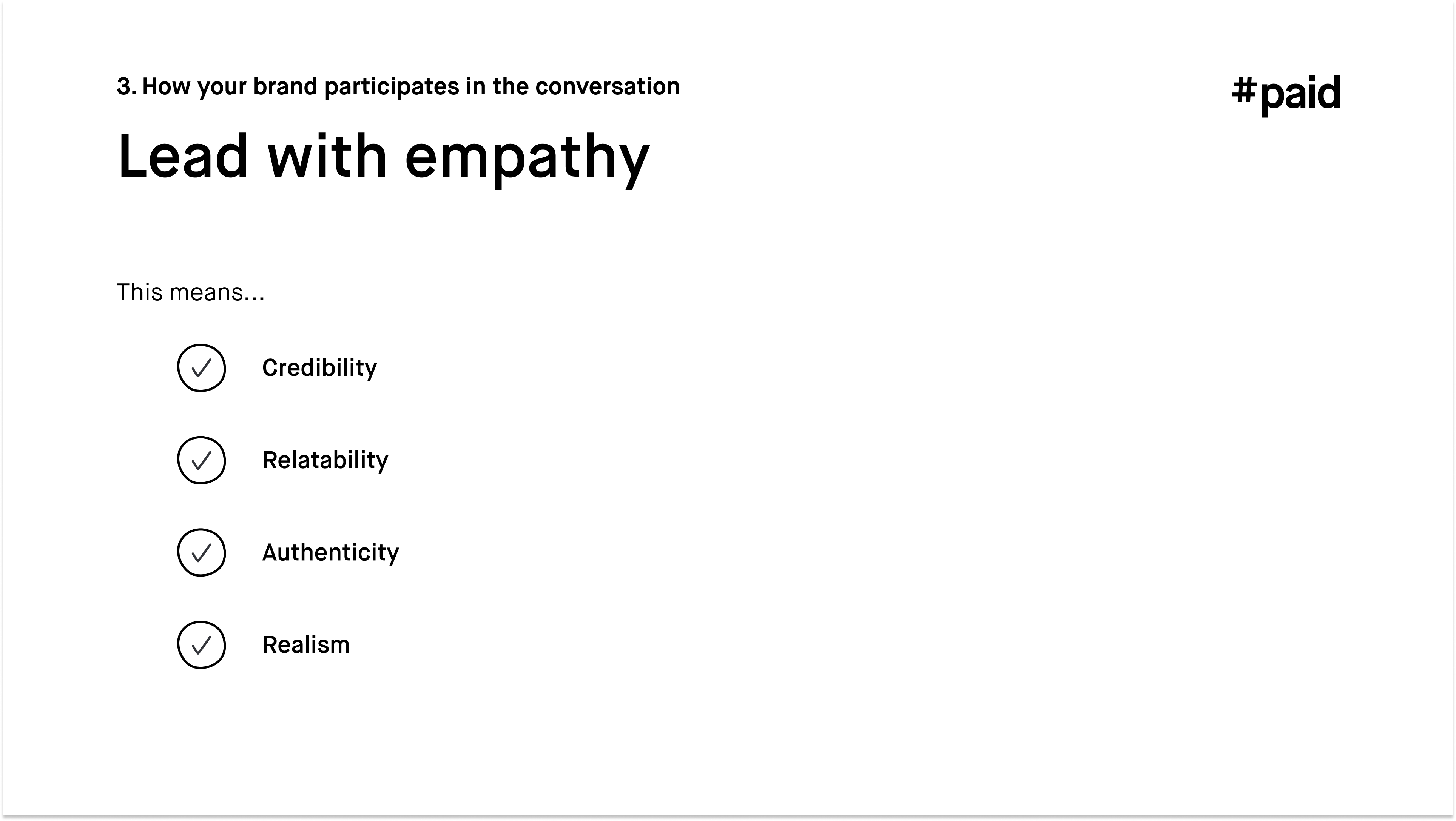 #paid_Lead with empathy