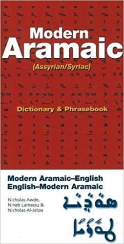 Modern Aramaic (Assyrinan/Syriac) Dictionary