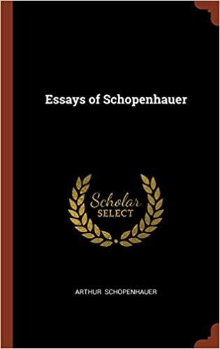 The Essays of Schopenhauer: The Art of Literature
