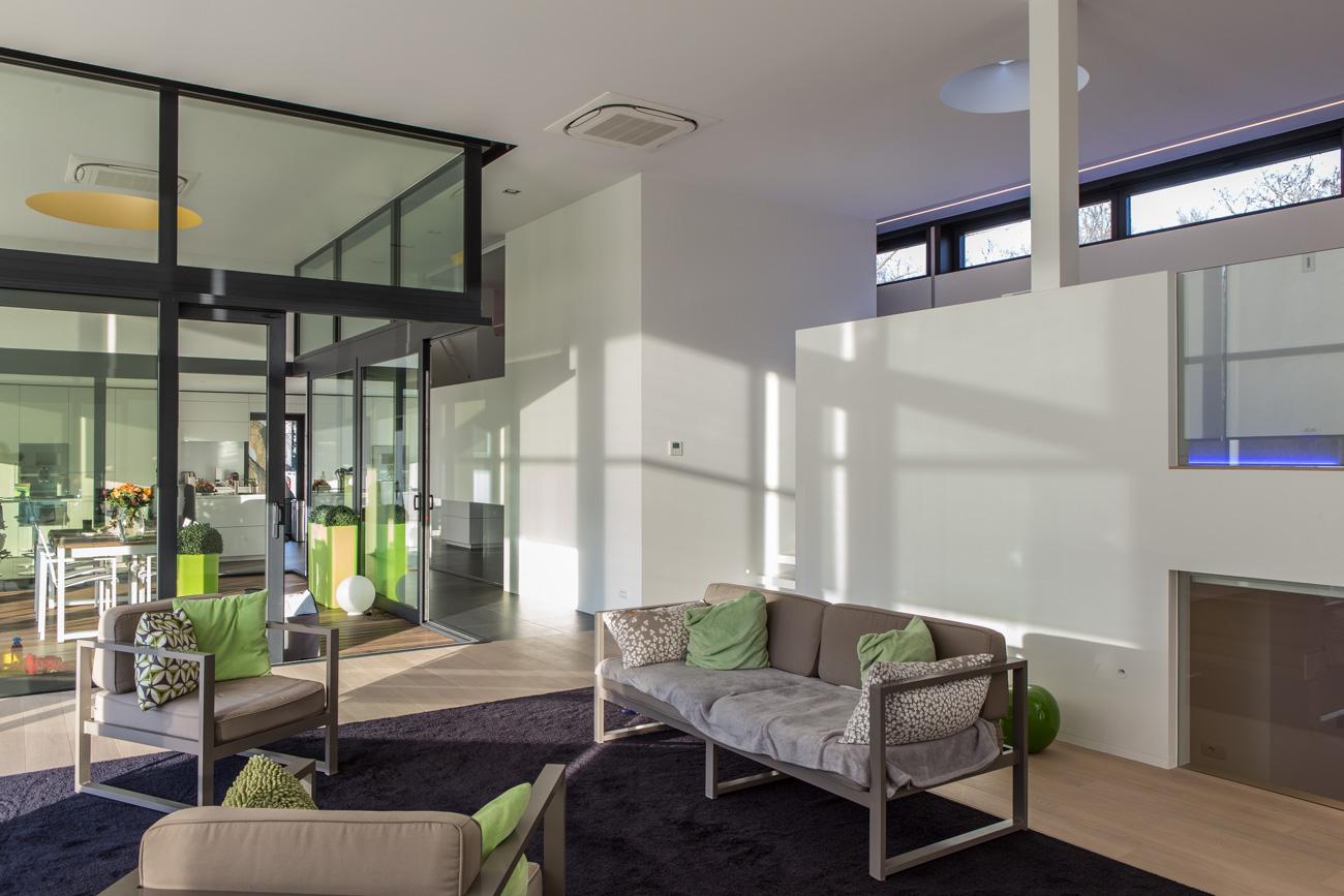 Woning in Sint-Amandsberg minimalistisch interieur living