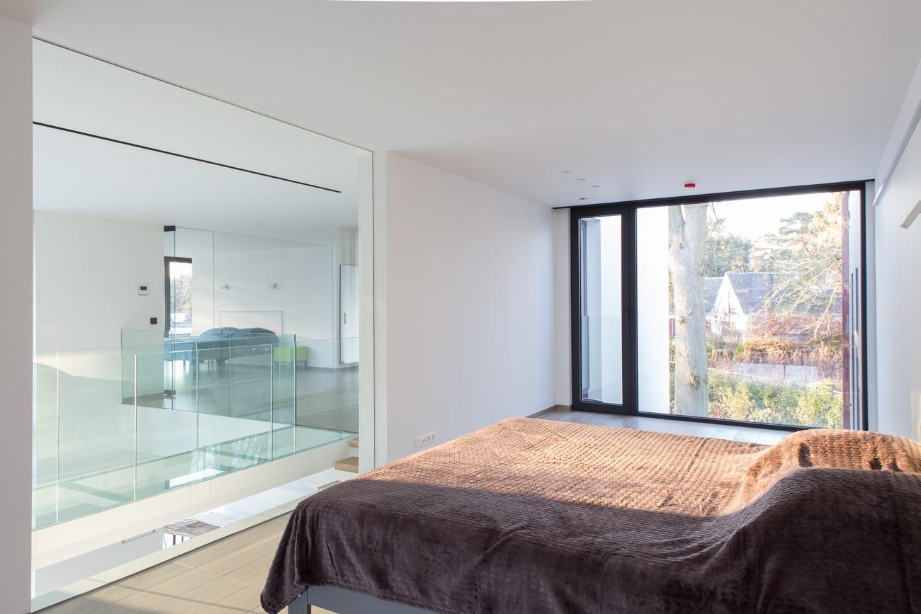 Woning Waasmunster minimalistisch interieur slaapkamer