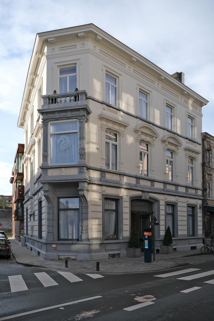 The Mansion Hotel Gent erfgoed restoratie historisch 19e eeuw neoclassicistische stijl gebouw in Hoogstraat