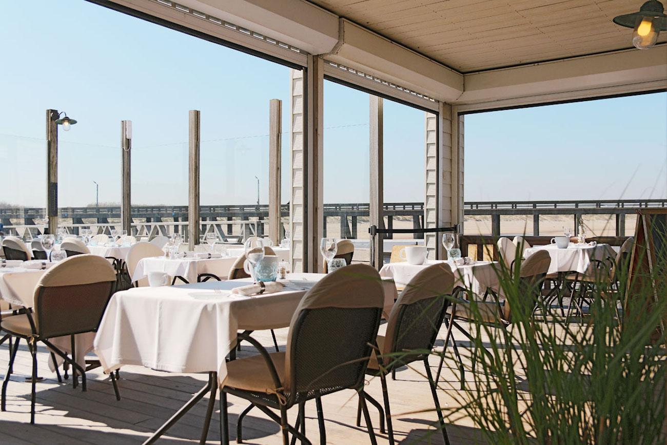 Brasserie Oosterstaketsel terrastafel