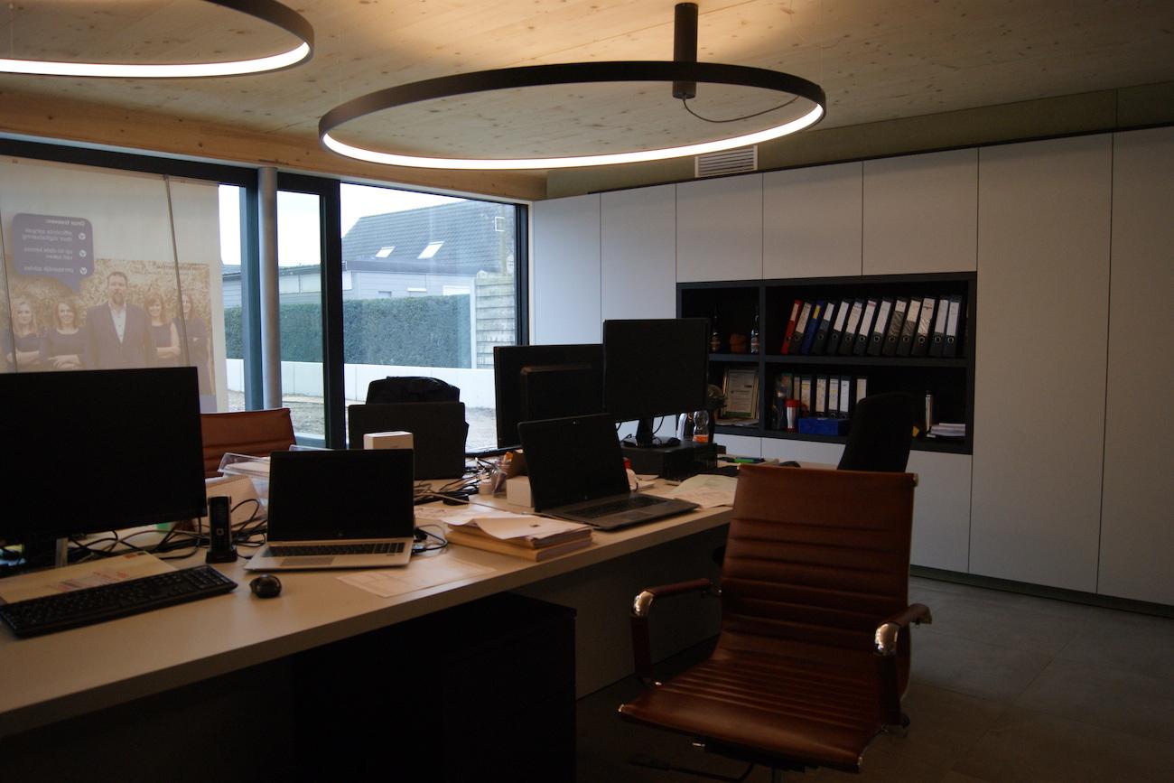 Carbofisc Kantoor CLT gebouw office houten interieur