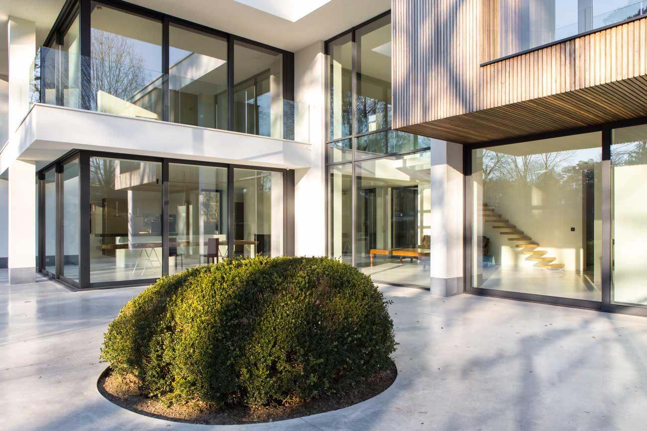 Villa CLT architectuur Waasmunster