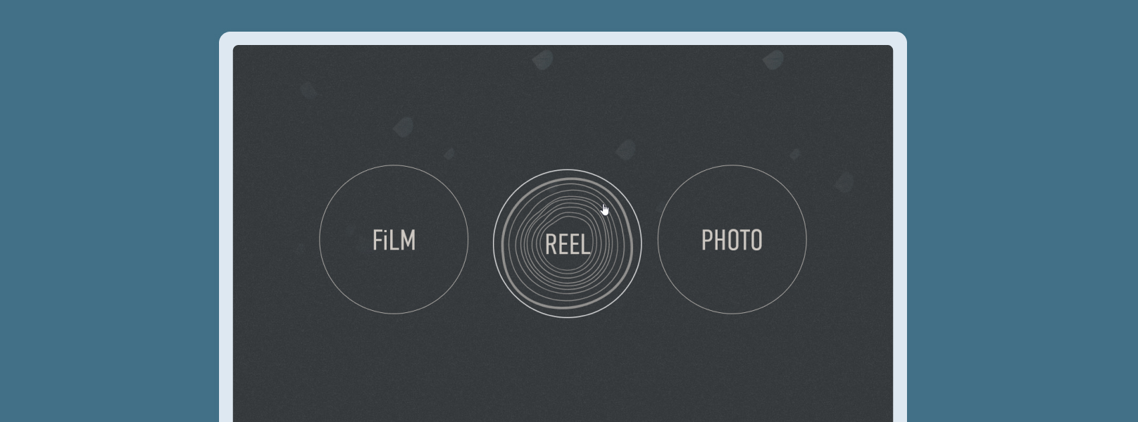Screenshot of Belward Tree FIlms Homepage