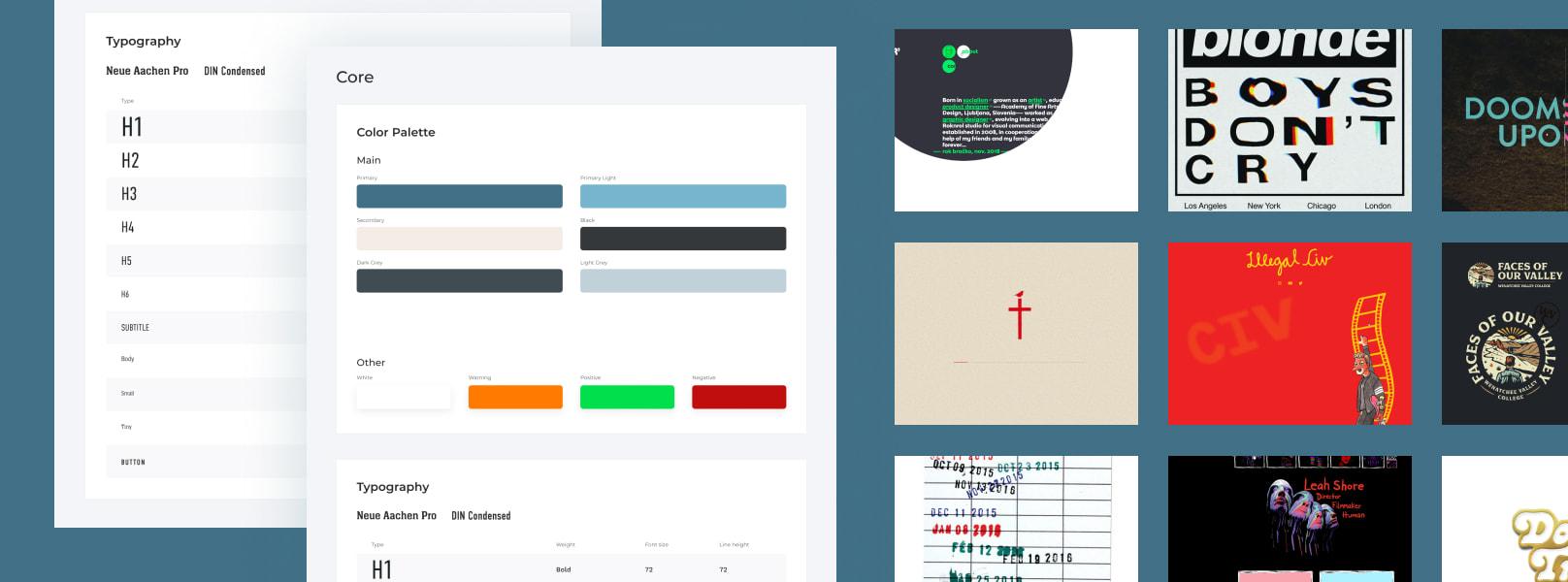 UI Kit & Moodboard