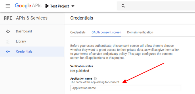 Client ID. Application Name - How to get Google Client ID and Client Secret
