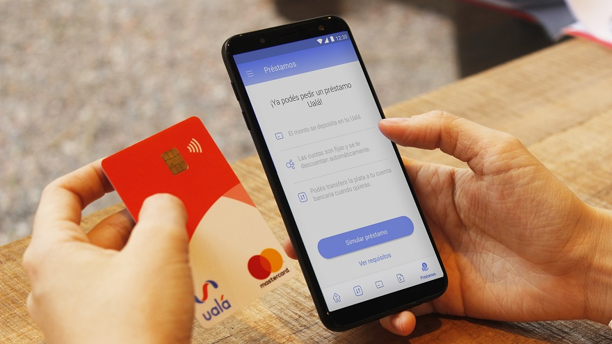 Las grandes estrellas de Ualá son su app móvil y su tarjeta prepaga Mastercard.